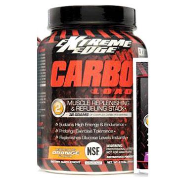 Extreme Edge Carbo Load Formula, Tenacious Orange Flavor, 2.5 lb, Bluebonnet Nutrition