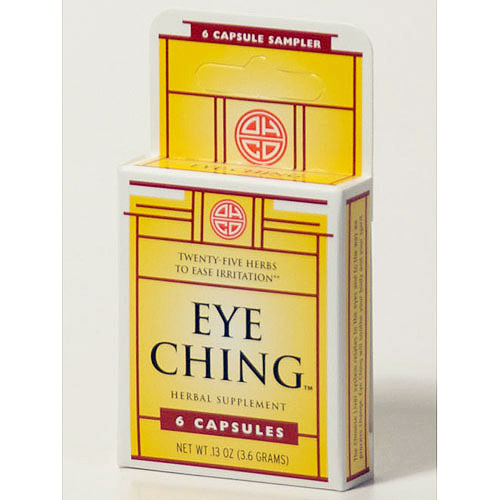 Eye Ching, Eye Health Formula, 6 Capsules, OHCO (Oriental Herb Company)
