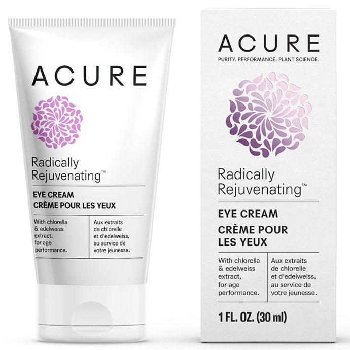 Acure Radically Rejuvenating Eye Cream, 1 oz