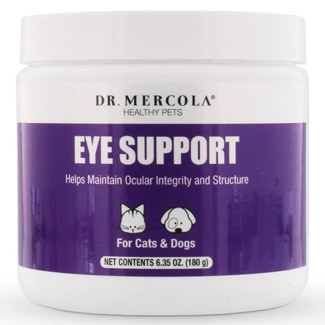 Eye Support for Pets, 6.35 oz (180 g), Dr. Mercola