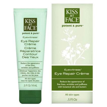 EyeWitness Eye Repair Cream, 0.5 oz, Kiss My Face