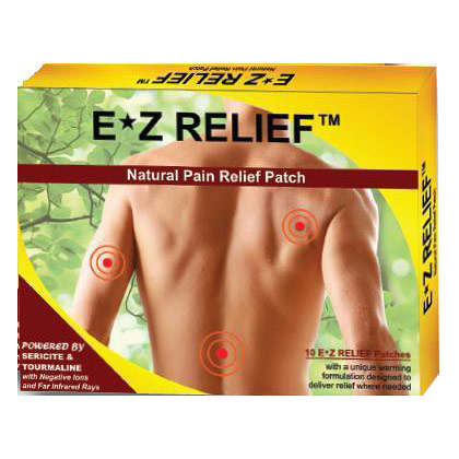 Inner Health EZ Relief Natural Pain Relief Patch, 5 Patches, TRR Enterprises Inc.