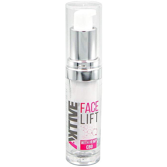 Face Lift Serum with Hemp CBD, 0.5 oz, Aktive