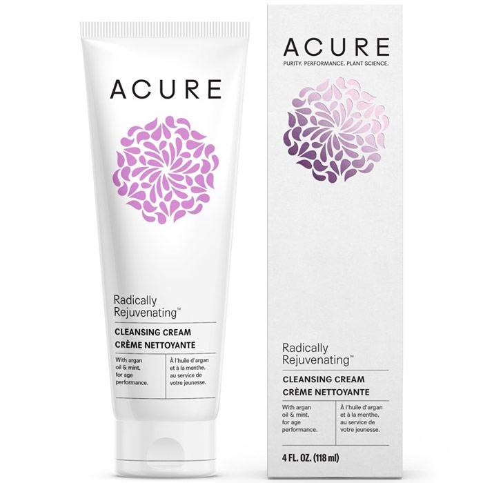 Acure Radically Rejuvenating Cleansing Cream, 4 oz