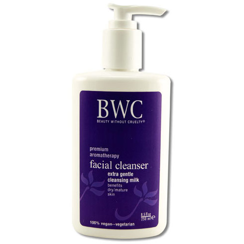 Extra Gentle Facial Cleansing Milk, 8.5 oz, Beauty Without Cruelty