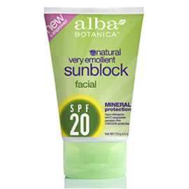 Facial Mineral Sunscreen SPF10, 4 oz, Alba Botanica - CLICK HERE TO LEARN MORE