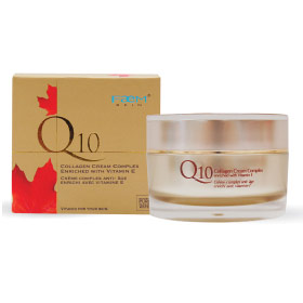 Faem Skin Q10 Collagen Facial Cream Complex, 50 g, Bill Natural Sources