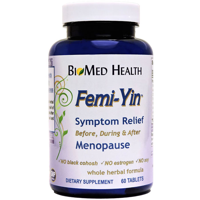 Femi-Yin for Menopause Relief, 60 Caplets, BioMed Health