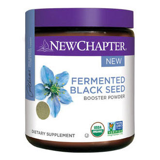 Fermented Black Seed Booster Powder, 54 g, New Chapter