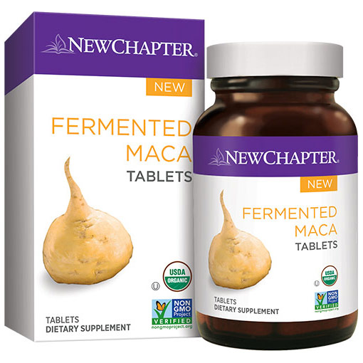 Fermented Maca Tablets, 48 Tablets, New Chapter