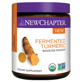 Fermented Turmeric Booster Powder, 63 g, New Chapter