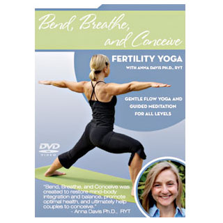 Bend, Breathe & Conceive - Fertility Yoga DVD, Fairhaven Health