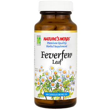 Feverfew Leaf 100 caps from Natures Herbs