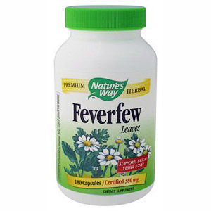 Feverfew Leaves 100 caps from Natures Way