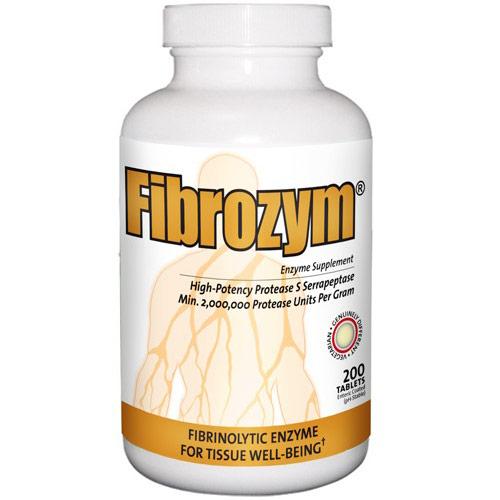 Fibrozym, Fibrinolytic Enzyme 200 tabs, Naturally Vitamins