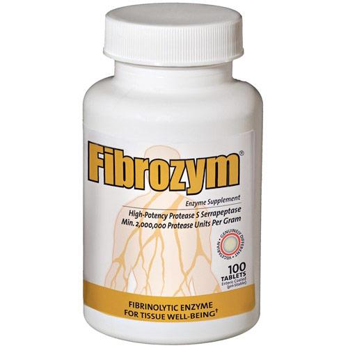 Fibrozym, Fibrinolytic Enzyme 100 tabs, Naturally Vitamins