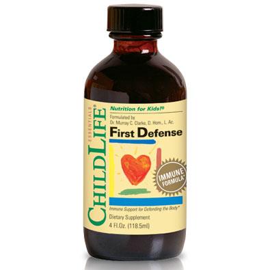 ChildLife First Defense Liquid, Immune Formula For Children, 4 oz