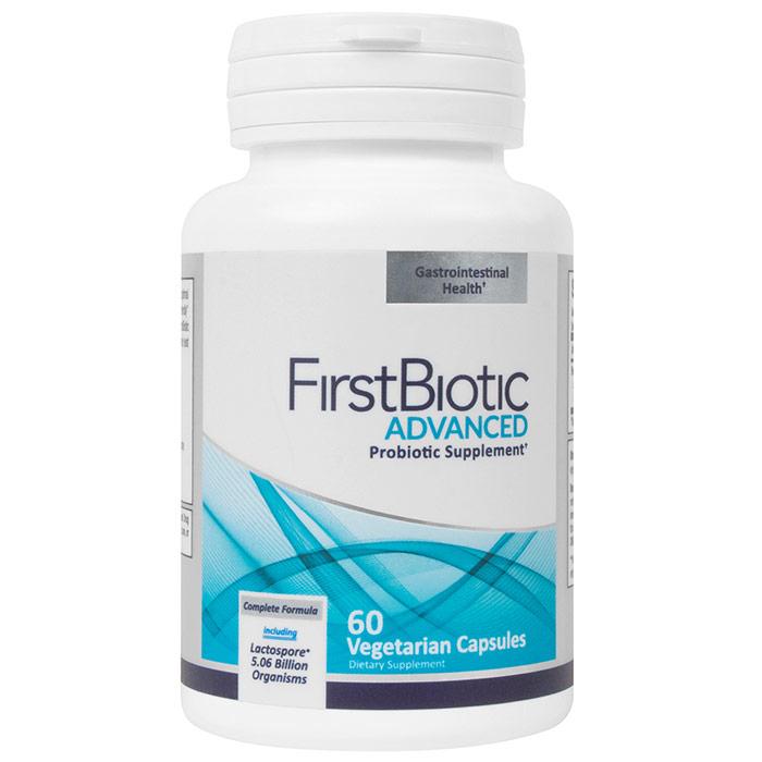 FirstBiotic, Advanced Probiotic Supplement, 60 Vegetarian Capsules, Newton-Everett