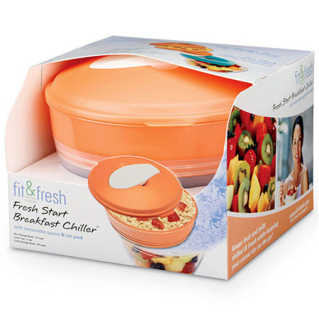Image of Fit & Fresh Fresh Start Breakfast Chiller Bowl, VitaMinder