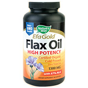 Flax Seed Oil 1300mg, 100 Softgels, Natures Way