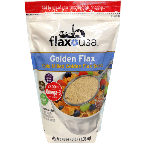 Image of Flax USA Cold Milled Golden Flax Seed, 48 oz