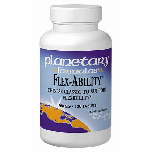 Image of Flex-Ability (Chinese Joint Flexibility Formula) 60 tabs, Planetary Herbals