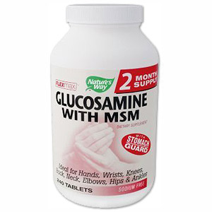 FlexMax Glucosamine with MSM 160 tabs from Natures Way
