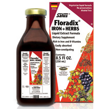 Floradix Iron Plus Herbs Liquid, 17 oz, Flora Health