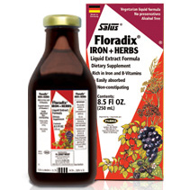 Floradix Iron Plus Herbs Liquid, 23 oz, Flora Health