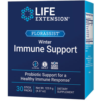 FlorAssist Immune Health, 30 Vegetarian Capsules, Life Extension