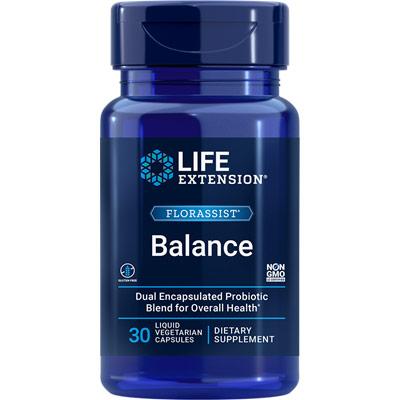 FlorAssist Probiotic, 30 Liquid Vegetarian Capsules, Life Extension