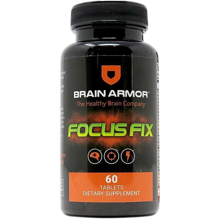 Focus Fix, Energy + Cognition Performance, 60 Tablets, Brain Armor
