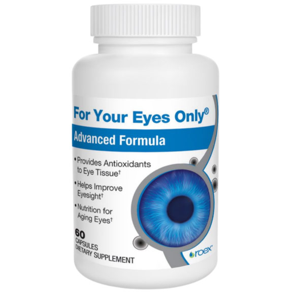 For Your Eyes Only, Advanced Nutrition Formula, 60 Capsules, Roex