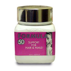 Formula 50; Support for Hair & Nails; 250 softgels; Naturally Vitamins