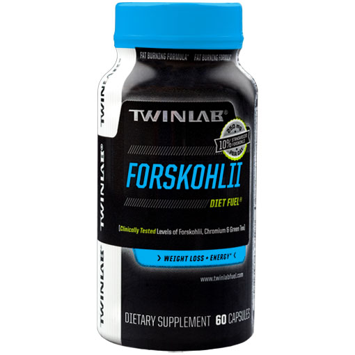 Forskohlii Diet Fuel, with Forskolin Extract, 60 Capsules, Twinlab