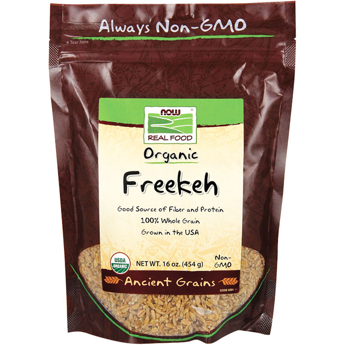 Freekeh, Organic, 16 oz, NOW Foods