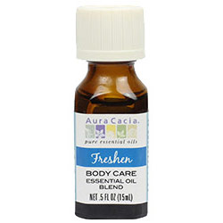 Freshen Body Care Essential Oil Blend, 0.5 oz, Aura Cacia