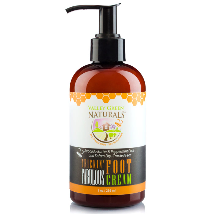 Image of Frickin' Fabulous Foot Cream, 8 oz, Valley Green Naturals