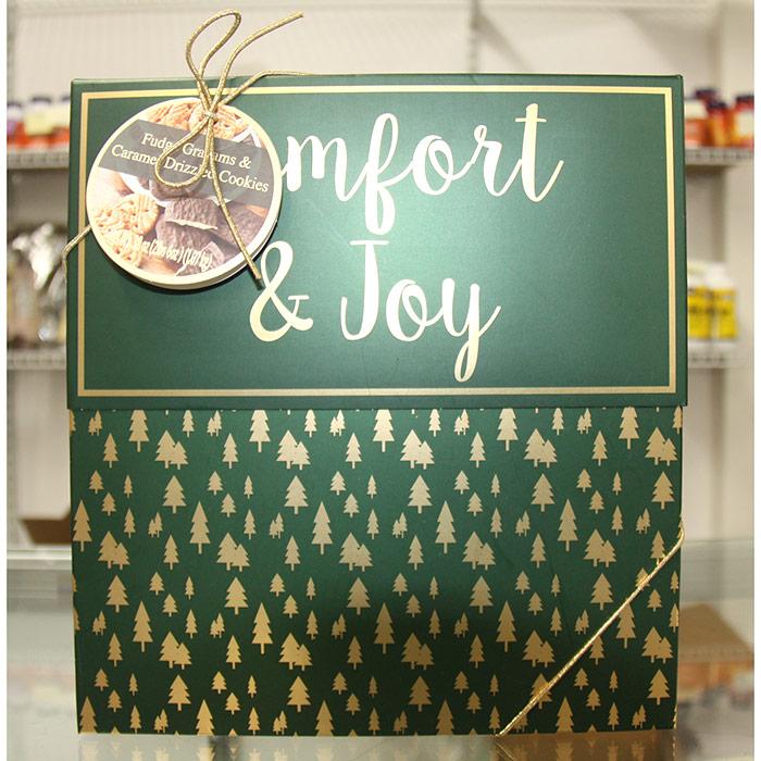 Fudge Grahams & Caramel Drizzled Cookies Gift Box, 38 oz (1.07 kg)
