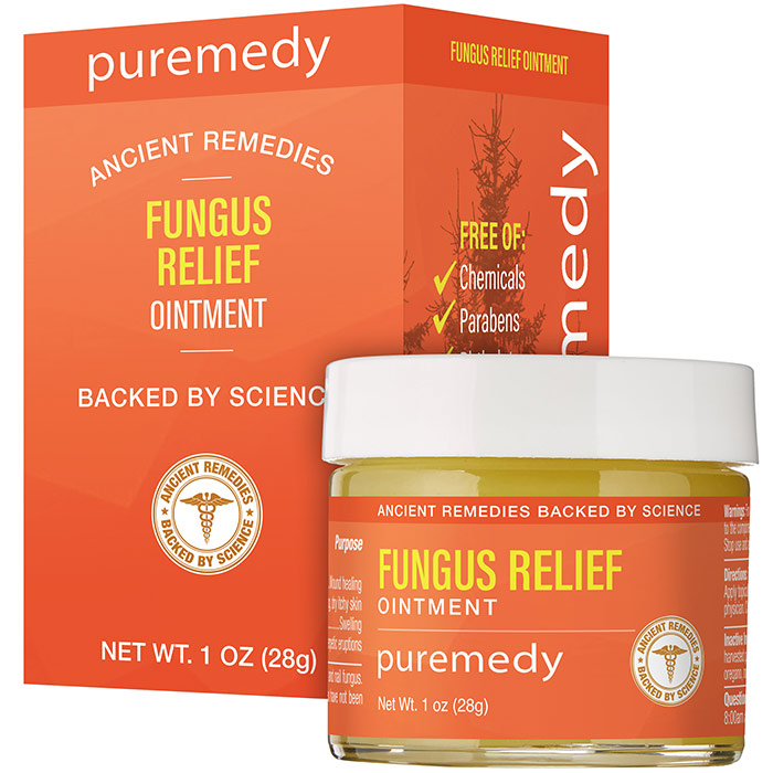 Fungus Relief Salve, Natural Relief, 1 oz, Puremedy