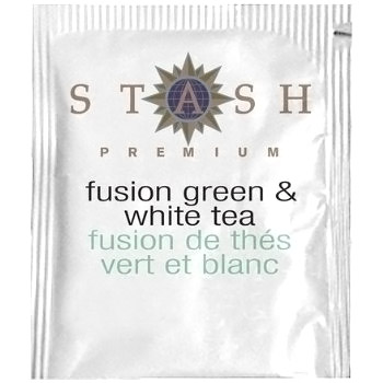 Premium Fusion Green & White Tea, 18 Tea Bags x 6 Box, Stash Tea