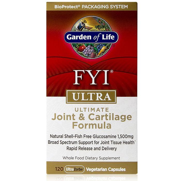 FYI Ultra, Ultimate Joint & Cartilage Formula, 120 Veggie Caps, Garden of Life