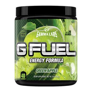 G Fuel Powder, Sports Drink Mix, 40 Servings, Gamma Labs