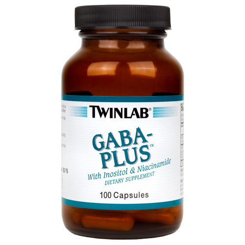 GABA-Plus Caps, 900 mg, 100 Capsules, Twinlab