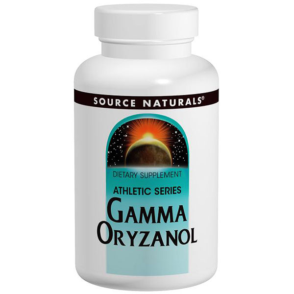 Image of Gamma Oryzanol 60mg 200 tabs from Source Naturals