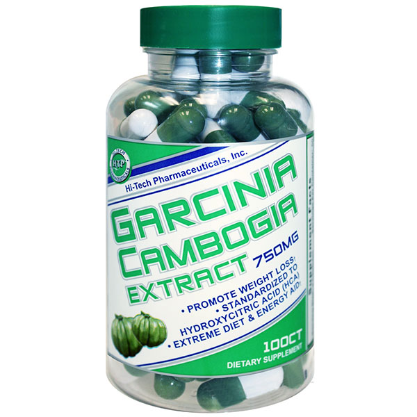 Image of Garcinia Cambogia Extract 750 mg, 100 Capsules, Hi-Tech