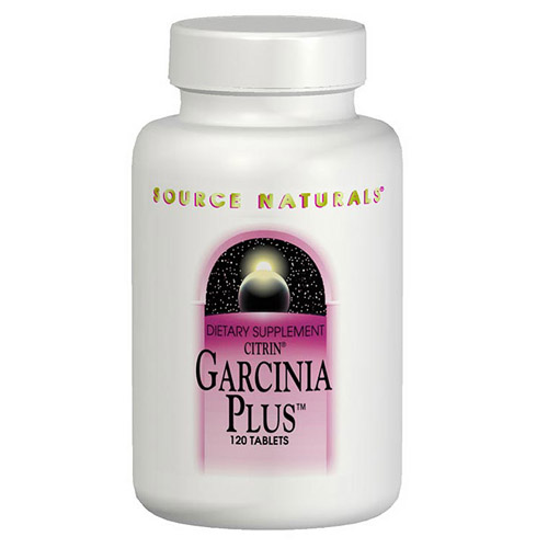 garcinia plus garcinia cambogia extract 120 tabs from source naturals ...