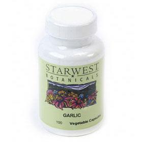 Garlic 100 Caps 500 mg, StarWest Botanicals