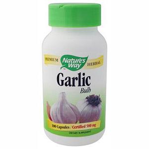 Garlic Bulb 100 caps from Natures Way