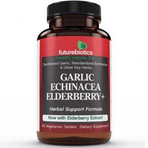 Garlic-Echinacea-Goldenseal Plus 60 tabs, Futurebiotics